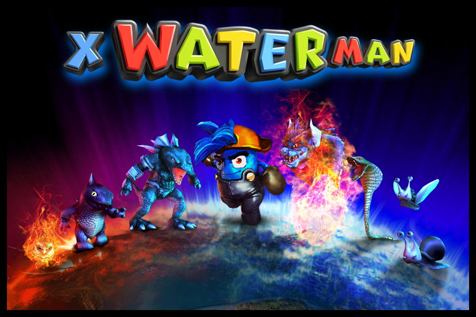 Screenshot X WaterMan Free +(3D HD)