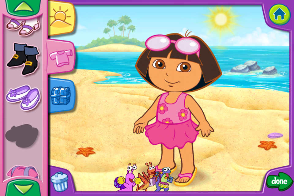Screenshot Dora's Dress-Up Adventures!